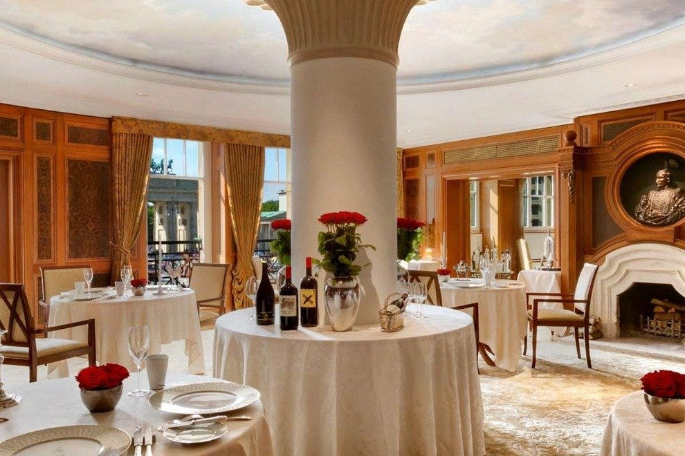 Lorenz Adlon Esszimmer Berlin Restaurants Review 10best Experts