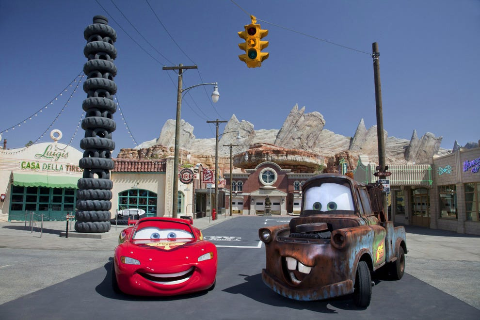 Cars Land at Disney's California Adventure Park opened in 2012