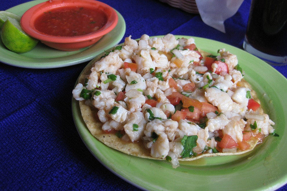 Juicy ceviche