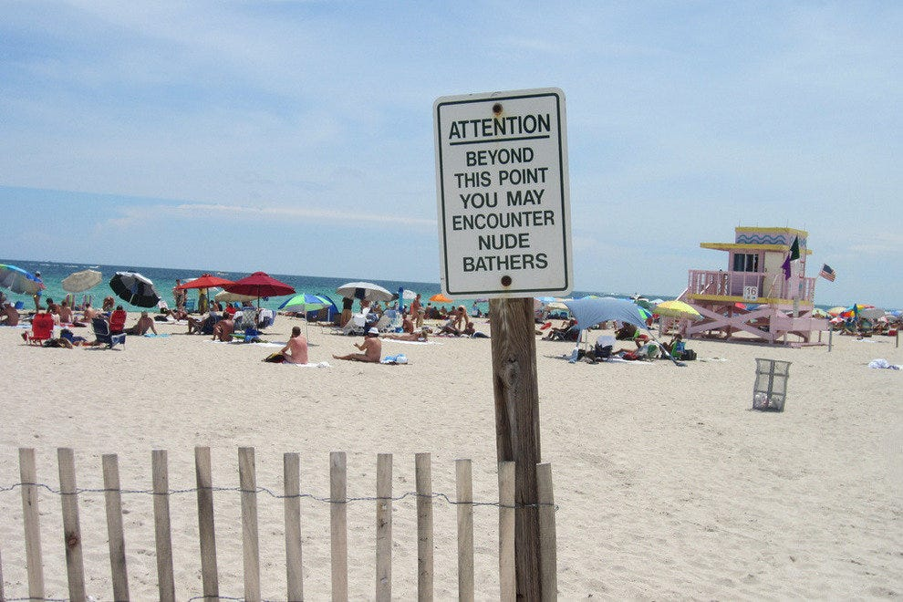 Haulover revealed as one of Top 10 nude beaches in the