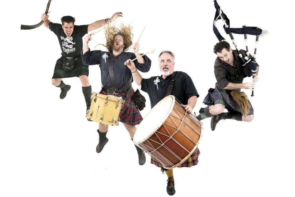 Wicked Tinkers will entertain at the 2013 Scottish Highland Games