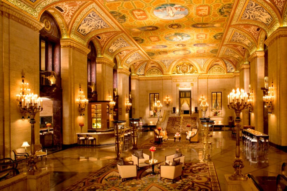 Palmer house afternoon tea chicago restaurants review for Top ten hotels in chicago downtown