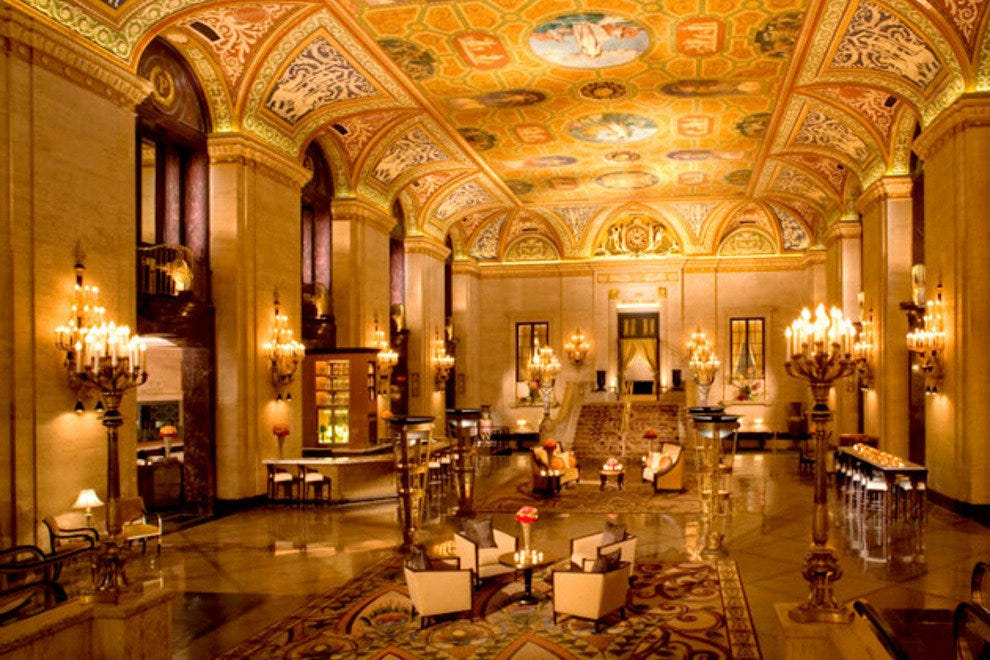 Palmer House Afternoon Tea Chicago Restaurants Review