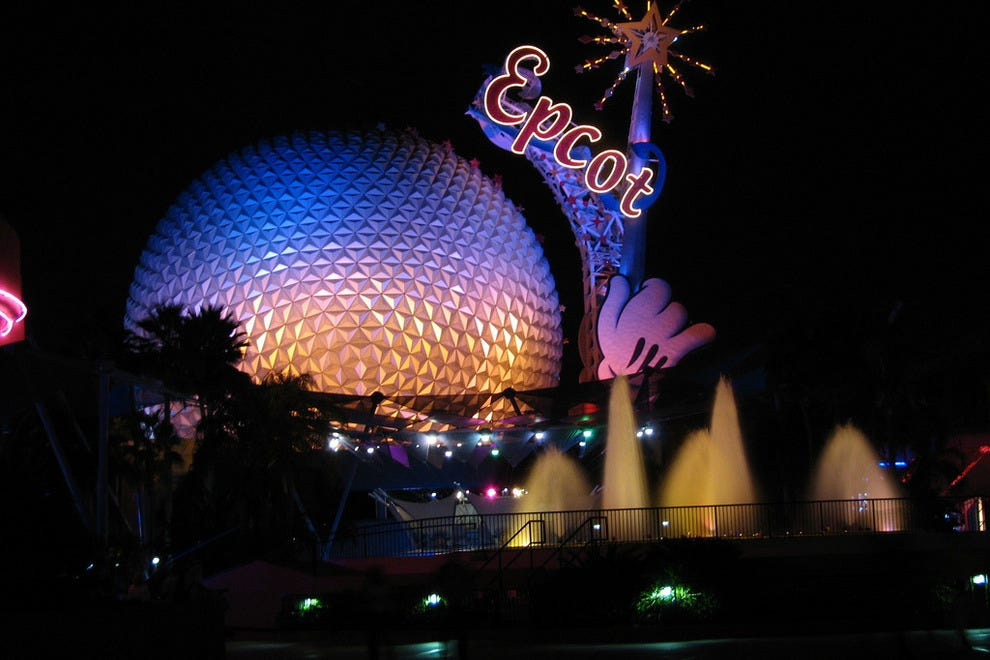 The globe at Epcot