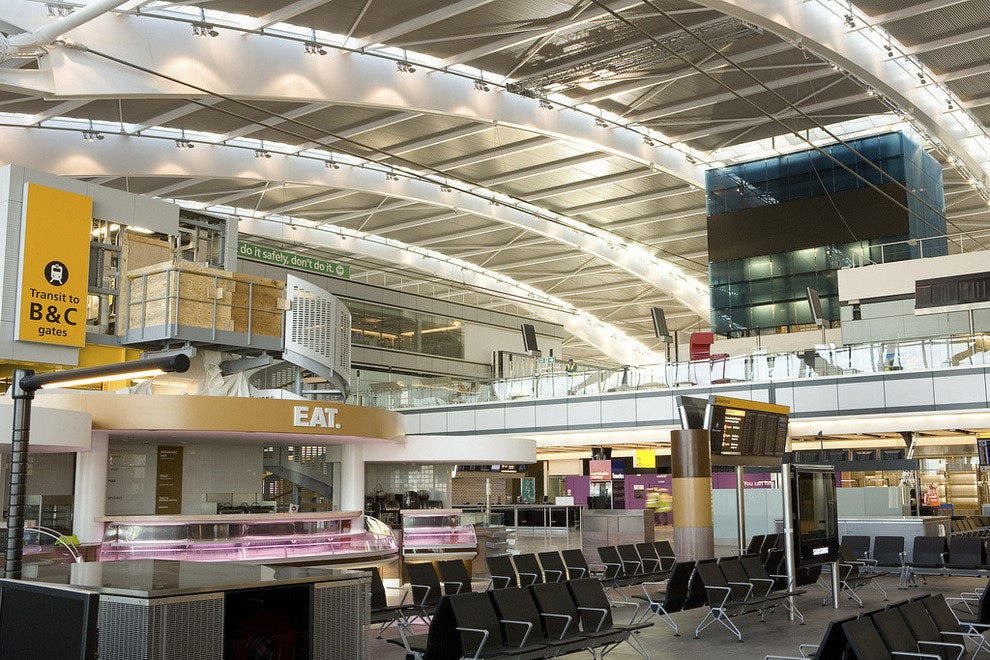 Terminal 5 - Heathrow's newest operational terminal