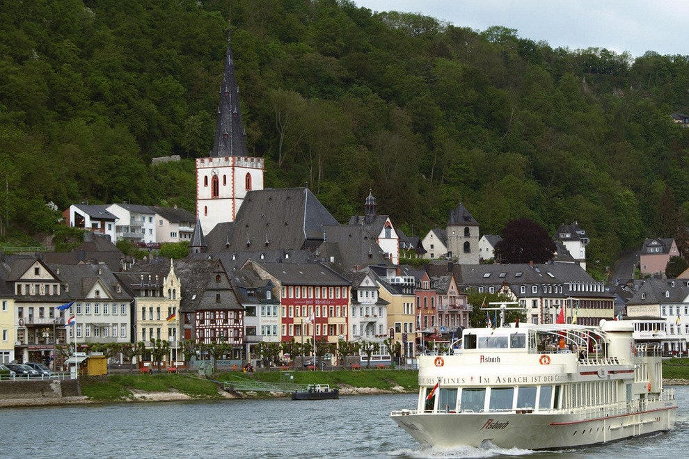 Cruising the Rhine River