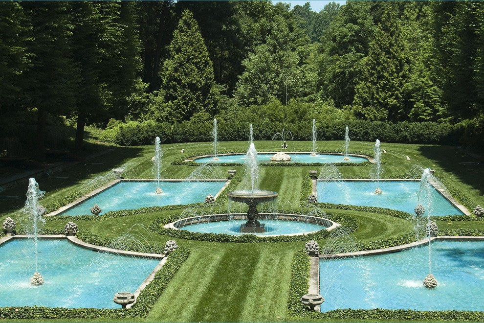Longwood Gardens, west of Philadelphia
