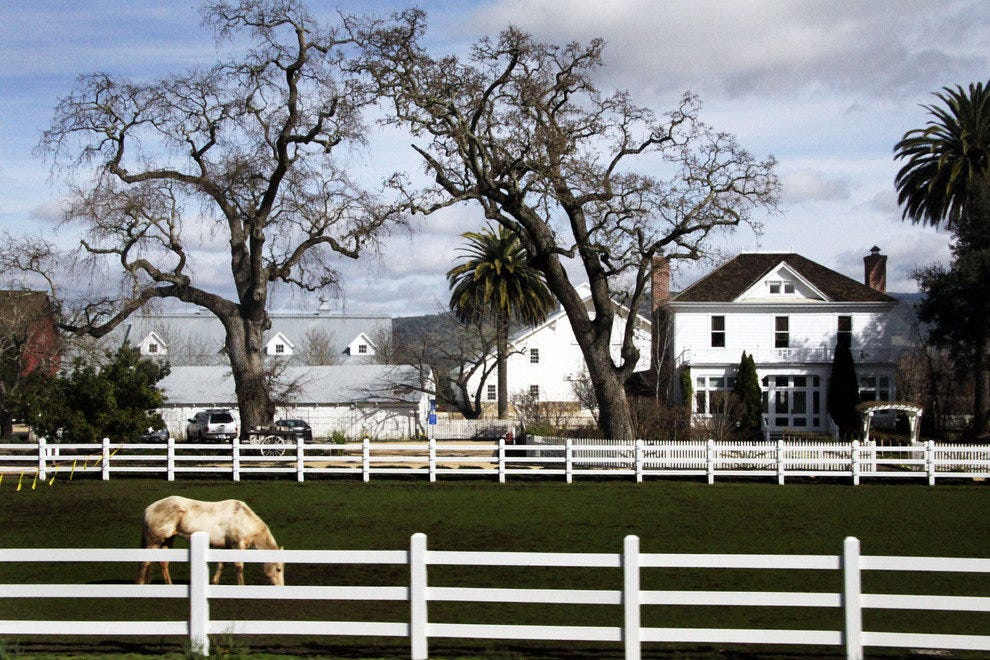 Sonoma Valley Farm House