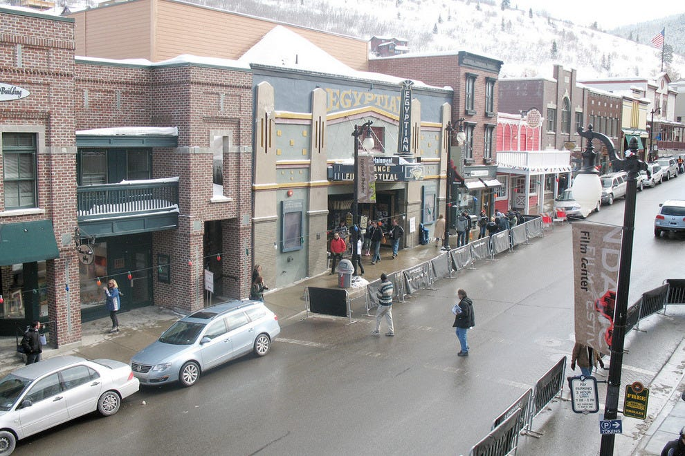 Egyptian Theater in Park City