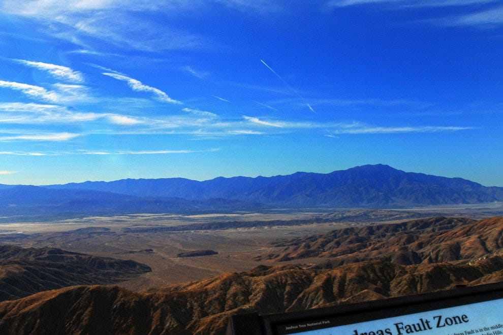 View the Infamous San Andreas Fault from Keys View