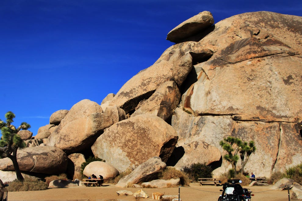 Picnic, Roadside at the Joshua Tree National Park
