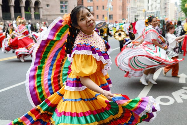 Cinco De Mayo Parade in New York City