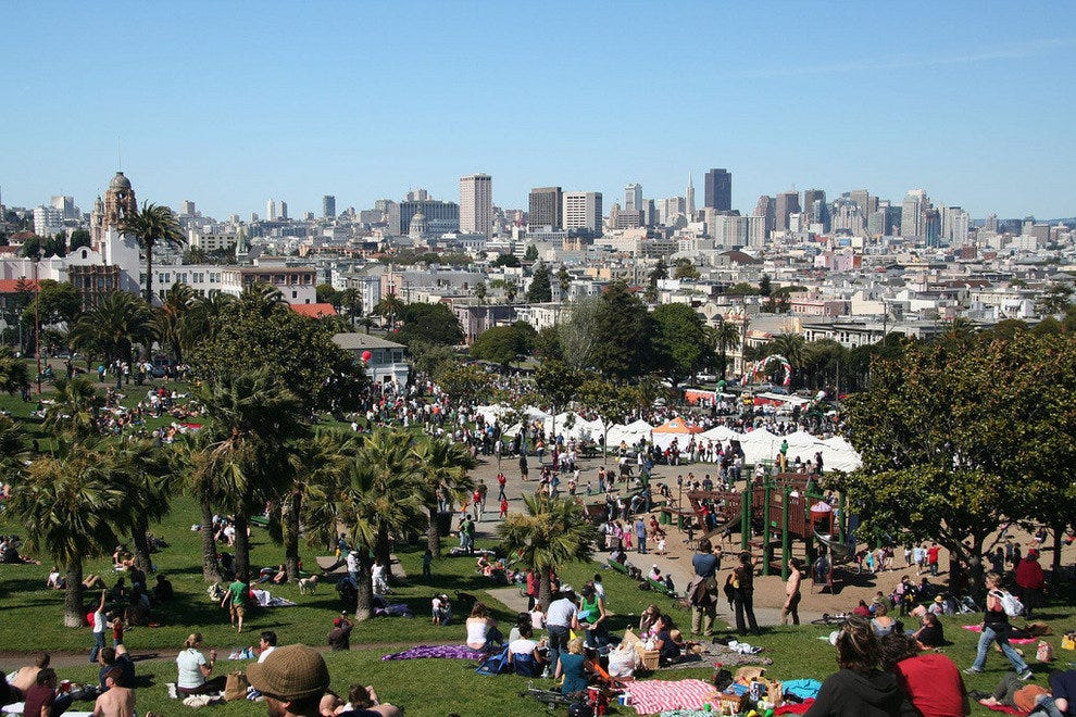 5th of May in Dolores Park, San Francisco