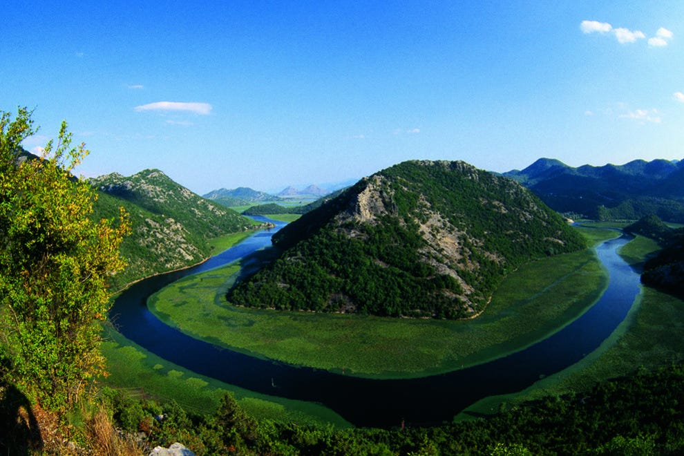 Postcard Perfect National Park Skadarsko Jezero Montenegro