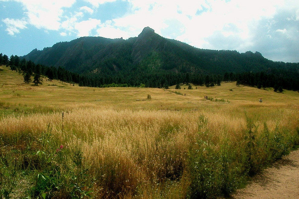 The Flatirons of Chautauqua