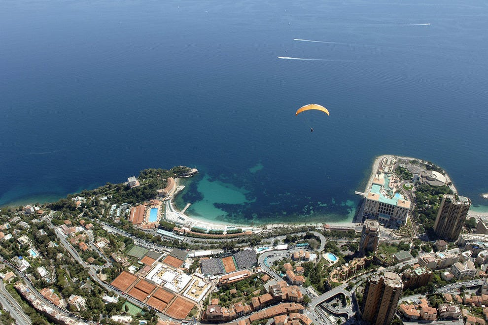 Bird's eye view of Monte Carlo