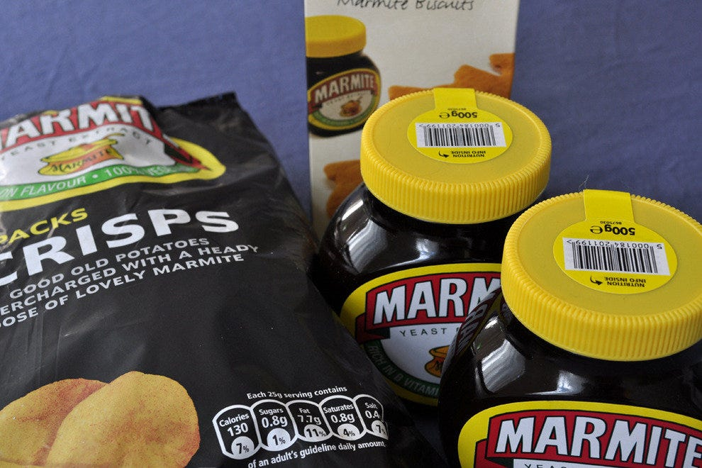 Marmite Chips in England