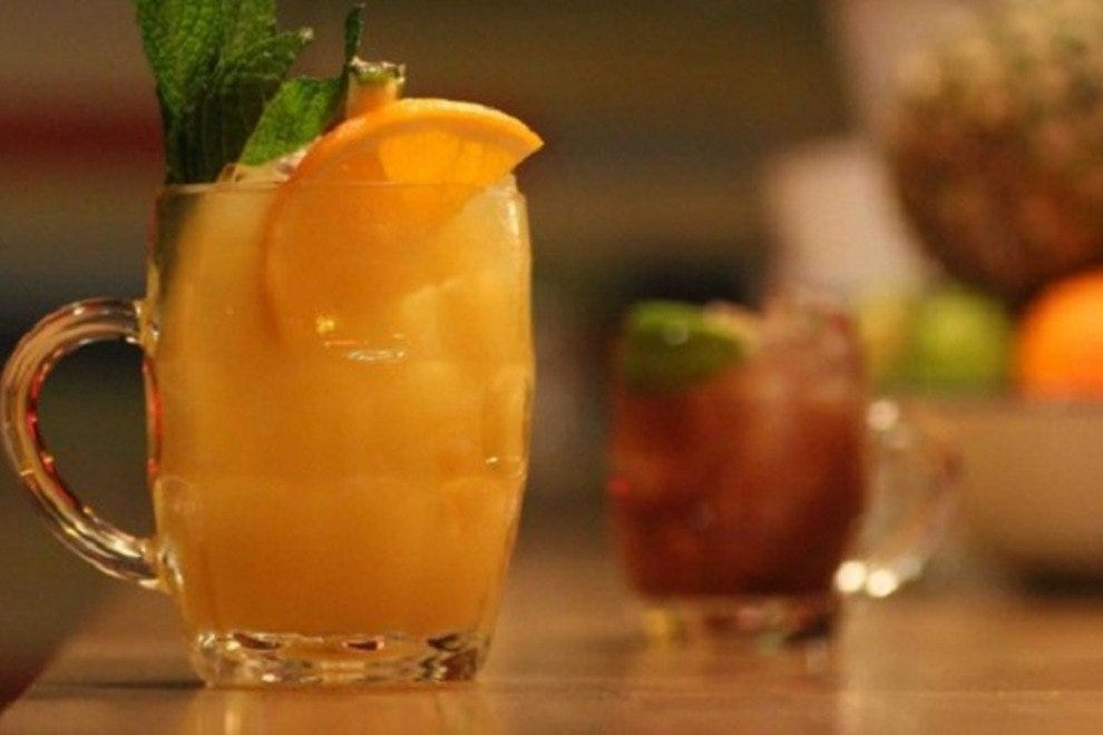 Libations at The Rum Kitchen