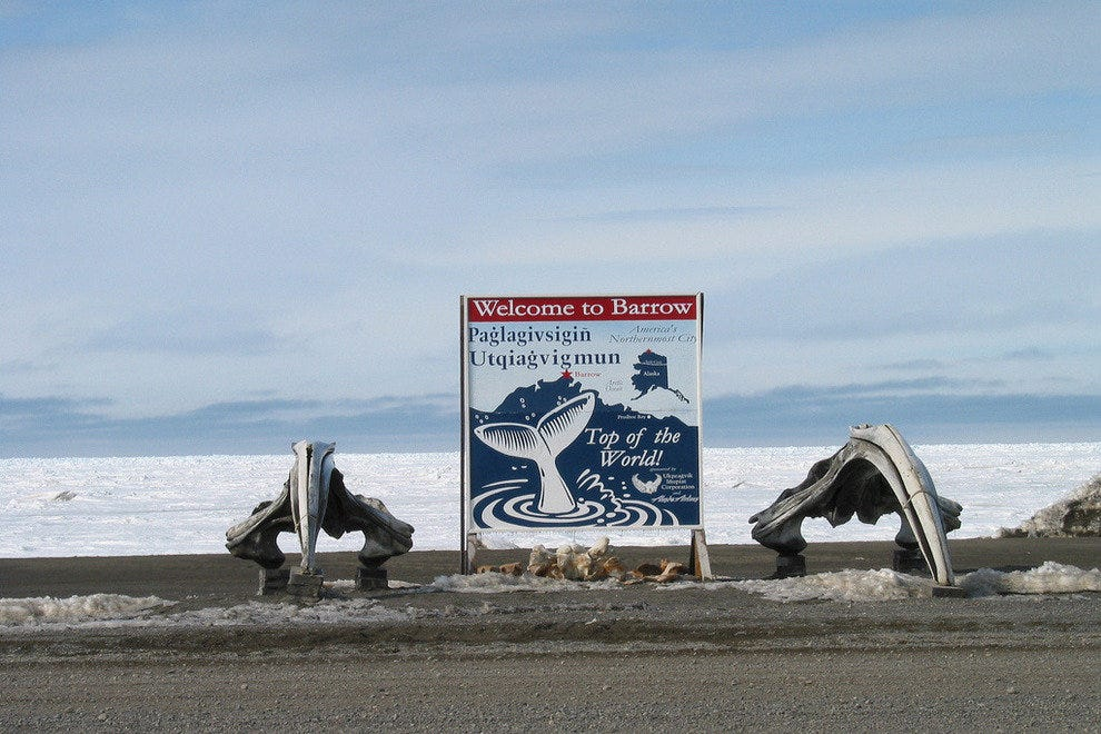 Coldest Place in the United States - Arctic Alaska
