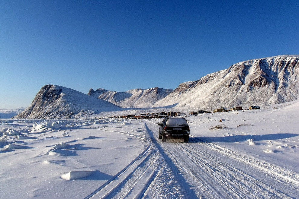 Ellesmere Island, home of Eureka