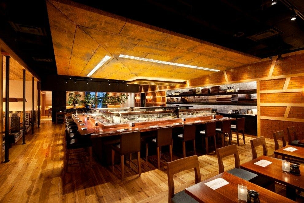 Blue Ribbon Sushi Bar Amp Grill Las Vegas Restaurants