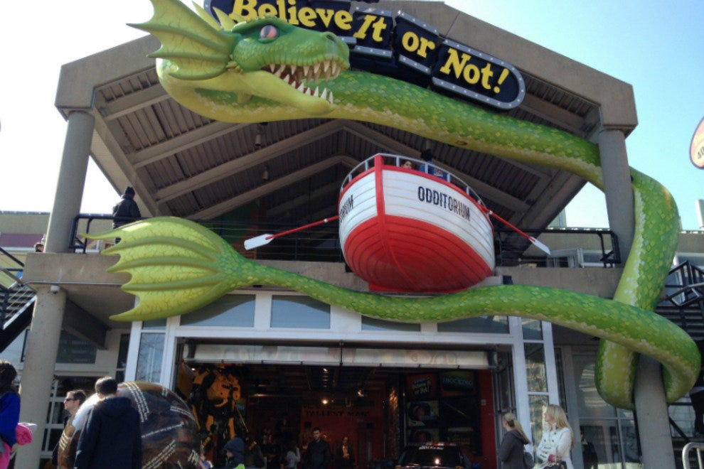 Ripley's Believe It Or Not! costs a family of four at least $60