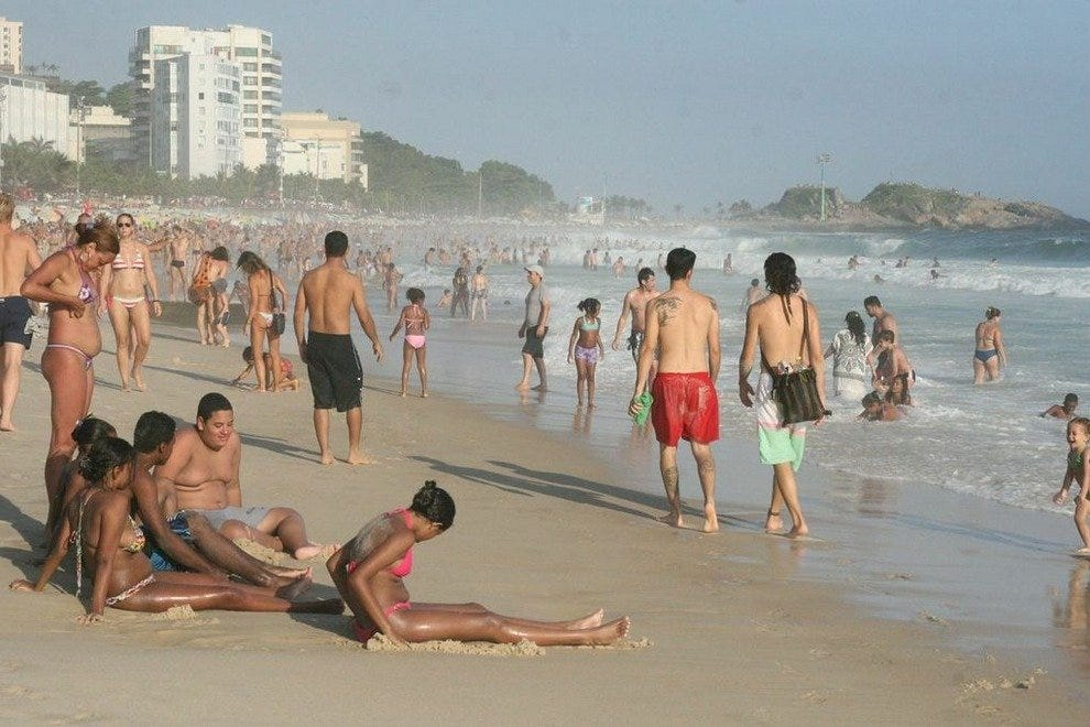 Join the locals on the beaches of Copacabana and Ipanema