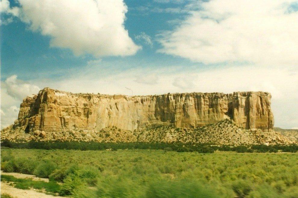 Enchanted Mesa, near Acoma Pueblo