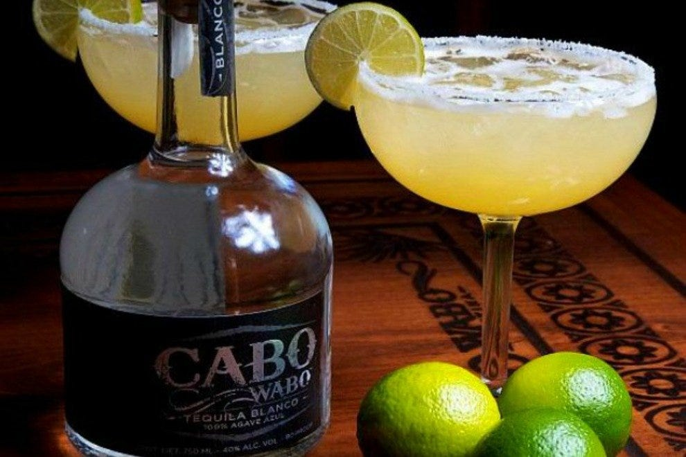 Margaritas always taste better with Cabo Wabo Tequila