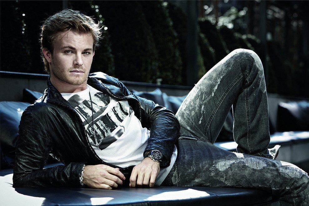 Fans caught a glimpse of Nico Rosberg at Berlin Fashion Week