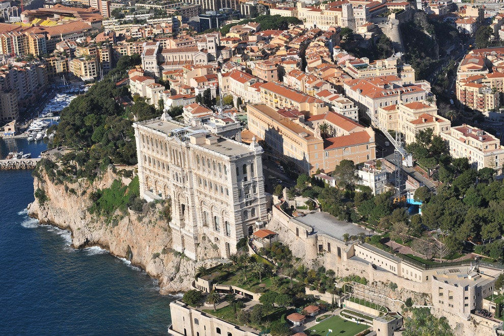 Monaco-Ville from above