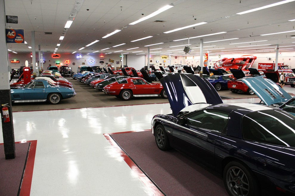 A small section of Muscle Car City dedicated the Chevrolets