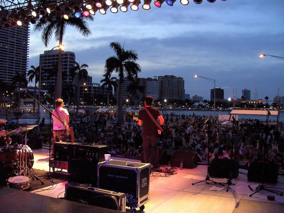 SunFest Music and Arts Festival in West Palm Beach, FL