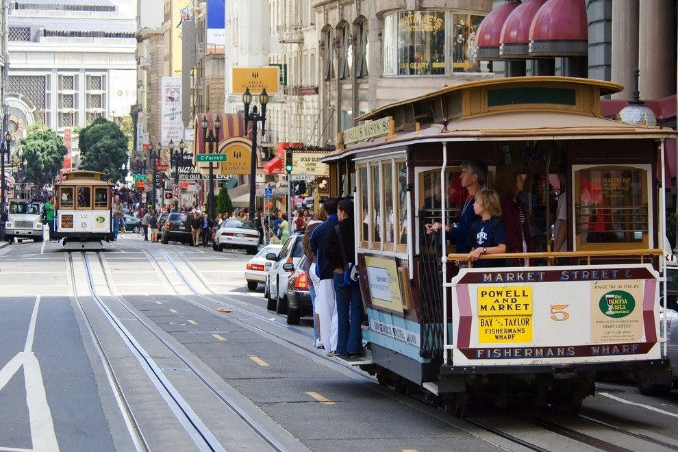 San Francisco Trolly