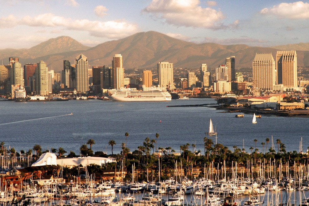 San Diego's Cruise Terminal Is Perfectly Located at the Heart of Downtown