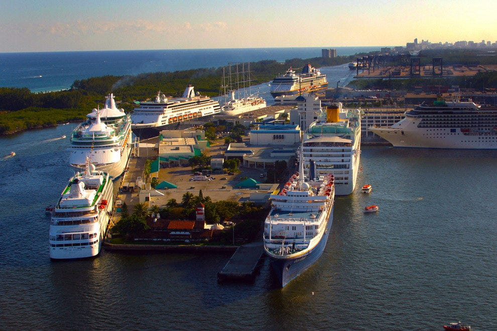 Fort Lauderdale's Port Everglades is One of the Busiest Cruise Ports in the World