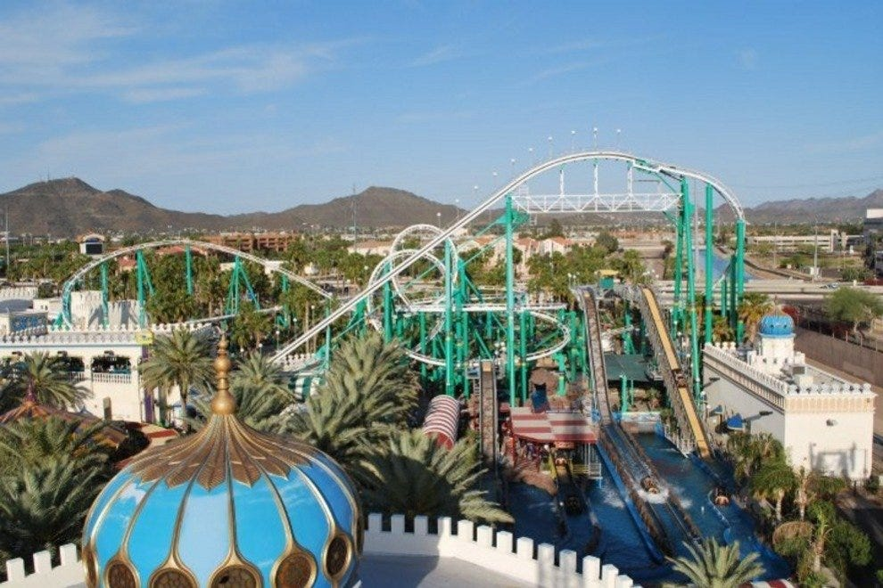 Castles n' Coasters is Phoenix's only amusement park and a popular family destination.