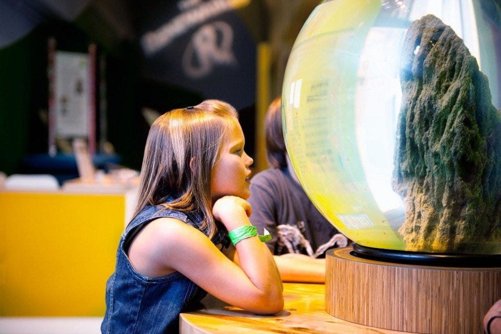 Kids will love exploring the hands-on displays at the Arizona Science Center.