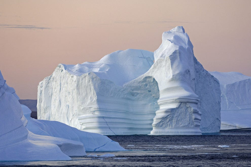 Eye-Popping Icebergs and Where to See Them