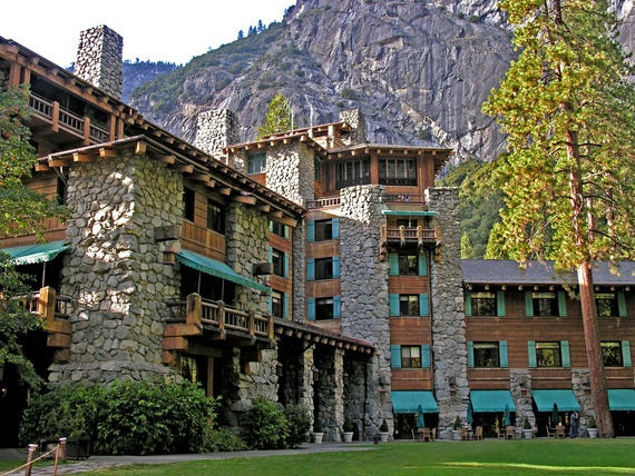 The Ahwahnee at Yosemite National Park