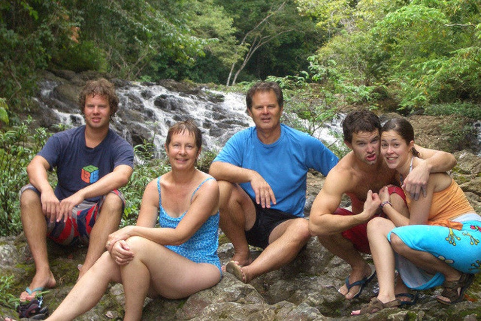哥斯达黎加的家庭时光