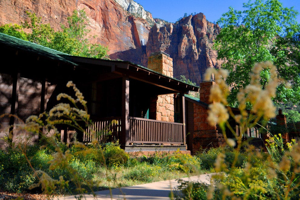 Zion Lodge at Zion National Park