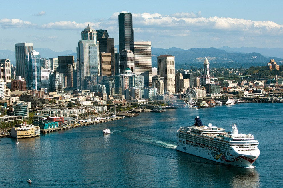 Seattle is a Favorite Port for Cruises to Alaska and the Northwest