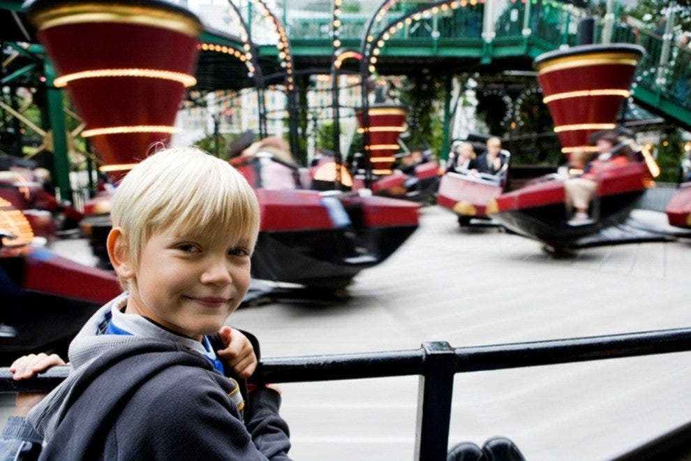 Tivoli Gardens is the kind of place kids don't want to leave