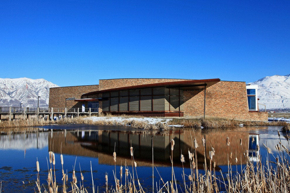 The recently renovated James V. Hansen Wildlife Education Center