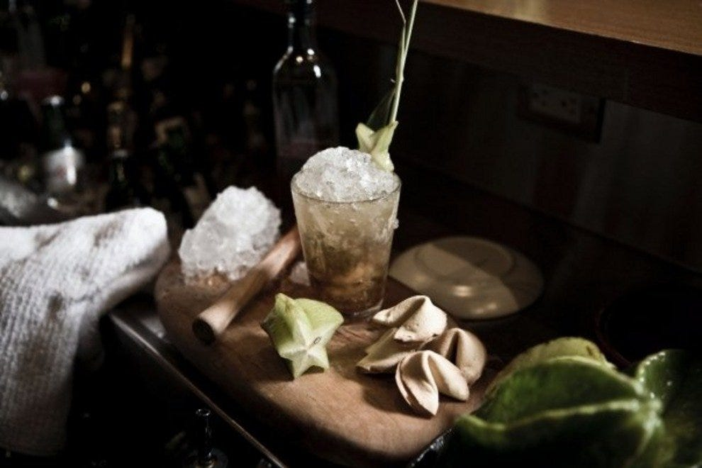 Craft cocktails at The Keefer Bar