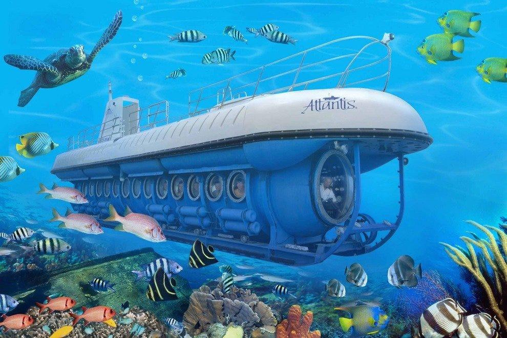 亚特兰提斯潜水艇探险