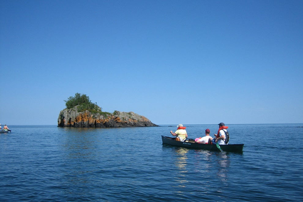 Boating in Isle Royale National Park