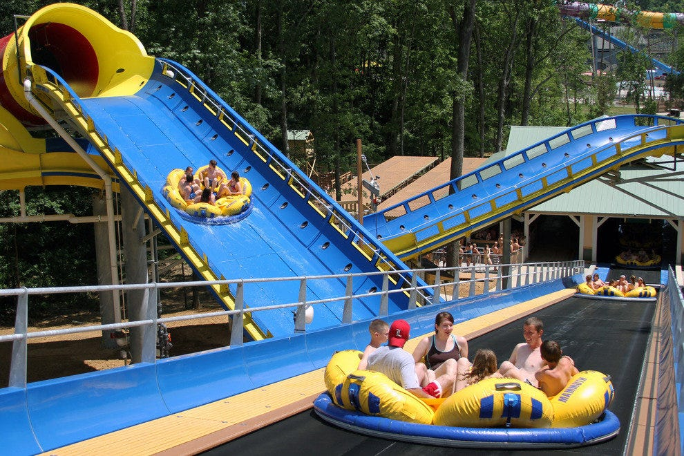 Mammoth:  The world's longest water coaster