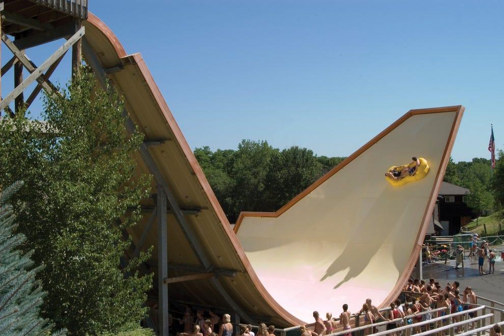 The Stingray water slide